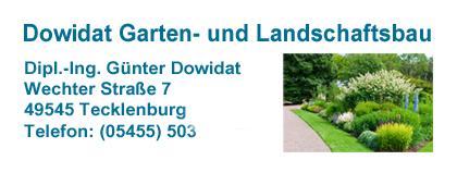 Garten- und Landschaftsbau Dowidat