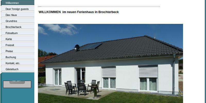 Ferienbungalow Brochterbeck