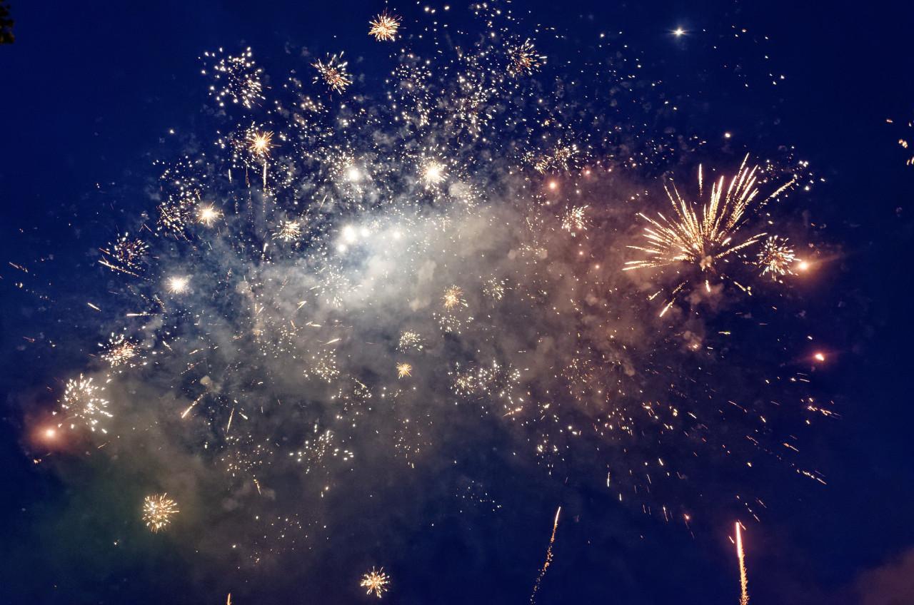 Feuerwerk Dorfkirmes Brochterbeck 2016